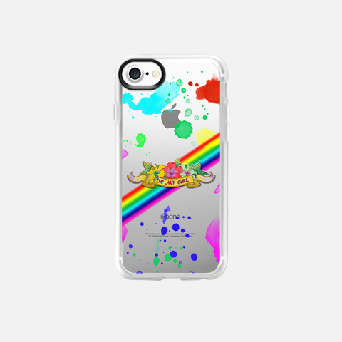 [TRANSPARENT/GLITTER] OMG COLORING BOOK PAINT SPLATTER