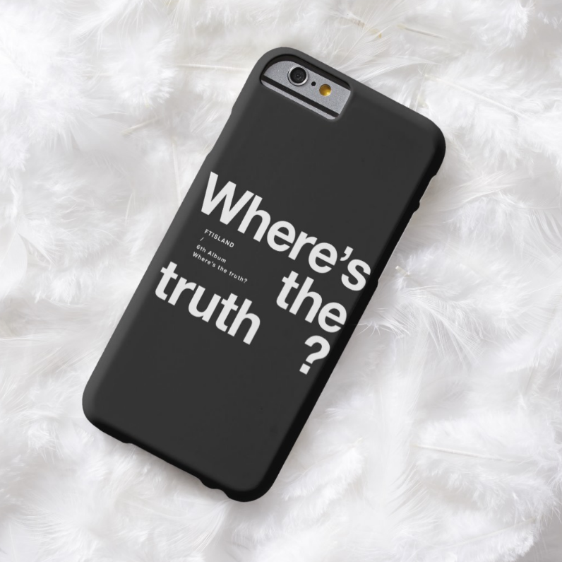 F.T. ISLAND: WHERE'S THE TRUTH? (2 DESIGNS)