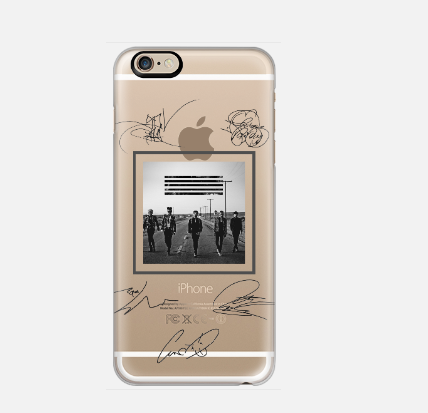 [TRANSPARENT/GLITTER] BIG BANG SIGNATURES