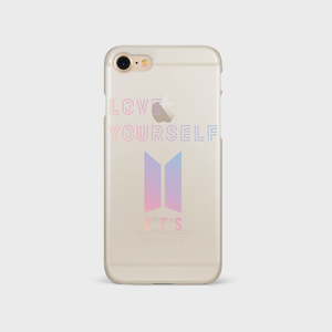 (TRANSPARENT/GLITTER) LOVE YOURSELF LOGO