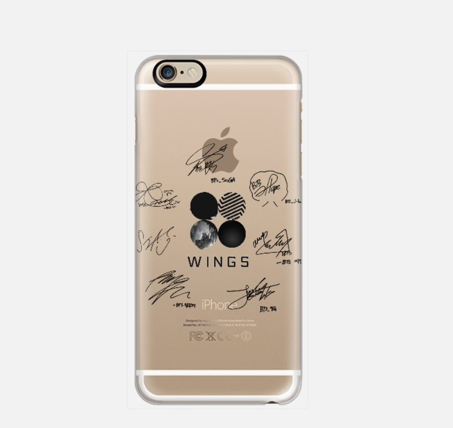 [TRANSPARENT/GLITTER] WINGS SIGNATURES