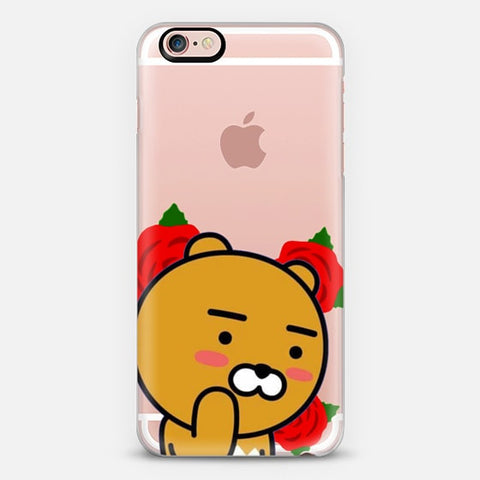 [TRANSPARENT/GLITTER] ROSEY RYAN (RAP MONSTER CASE REMAKE)
