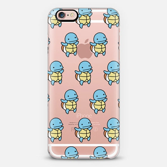 [TRANSPARENT/GLITTER] SQUIRTLE (RAP MONSTER CASE REMAKE)