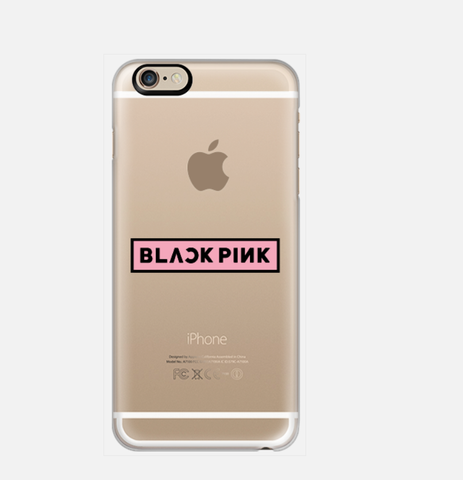 [TRANSPARENT/GLITTER] BLACK PINK