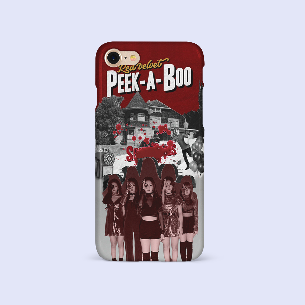 RED VELVET PEEK-A-BOO MOVIE POSTERS (2 DESIGNS)