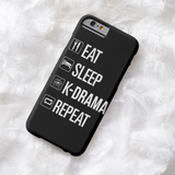 EAT, SLEEP, K-DRAMA, REPEAT (2 DESIGNS)