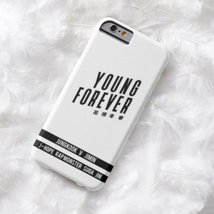 YOUNG FOREVER: B&W (2 DESIGNS)