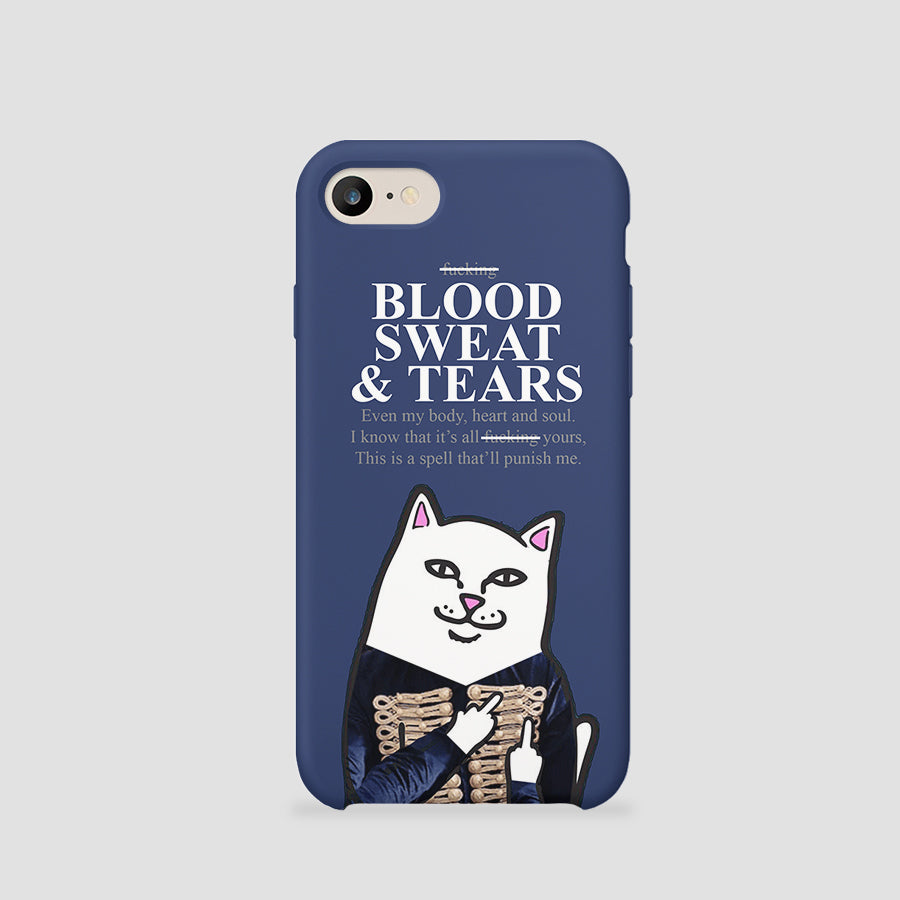 BLOOD SWEAT AND TEARS CAT