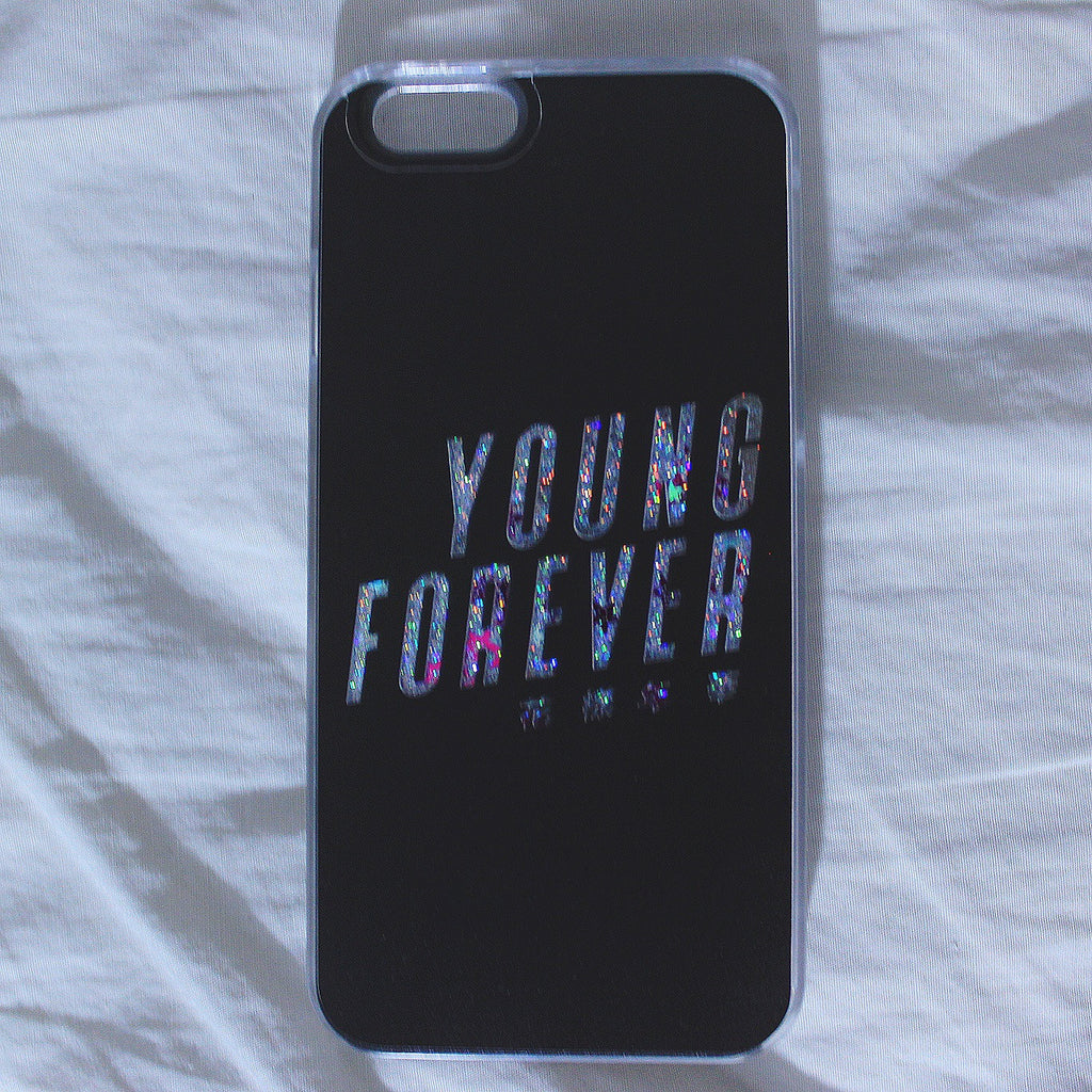 [TRANSPARENT/GLITTER] YOUNG FOREVER