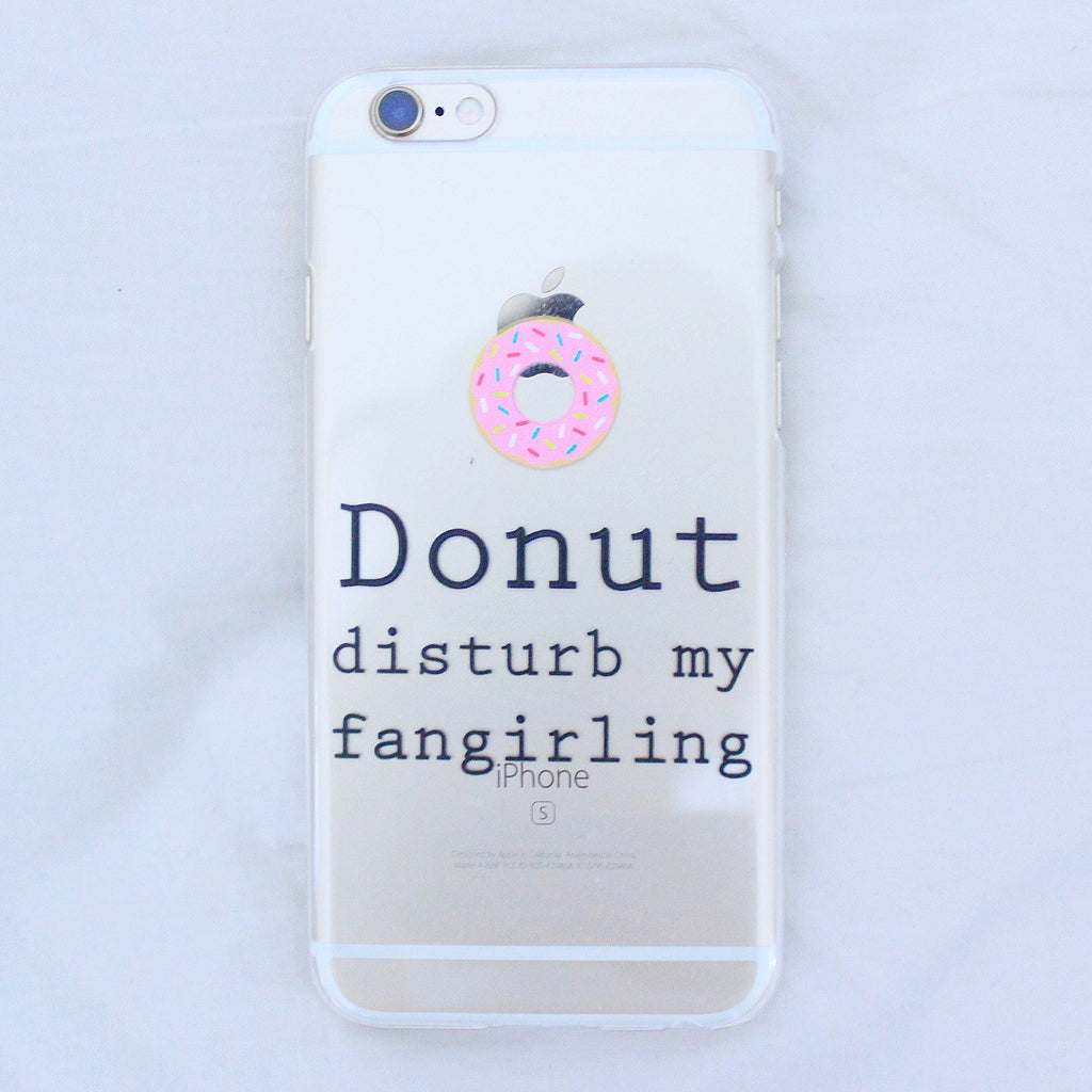 [TRANSPARENT/GLITTER] DONUT DISTURB!
