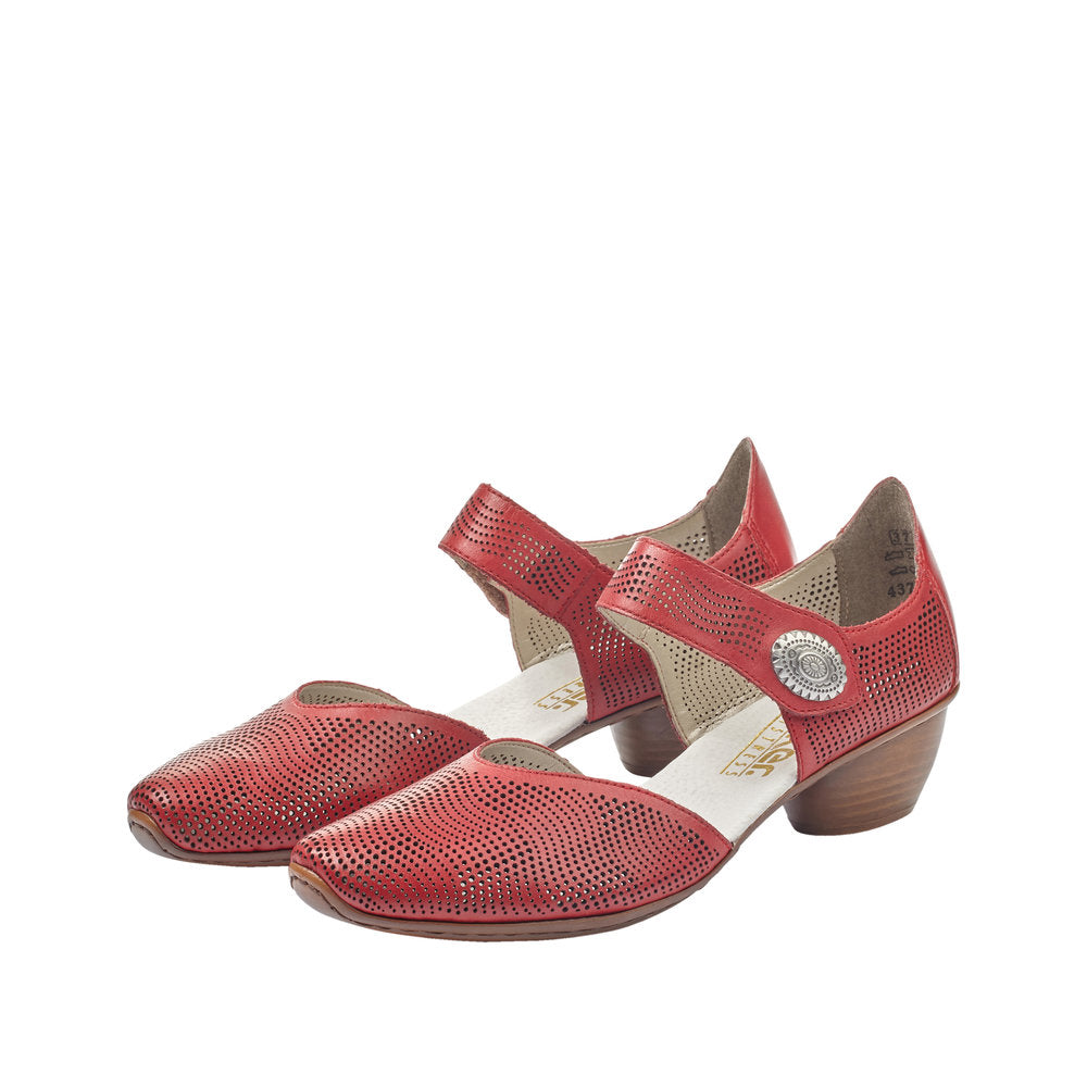 Rieker | 43767-33 | Dress Shoes Red