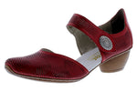 Load image into Gallery viewer, Rieker | 43767-33 | Dress Shoes Red