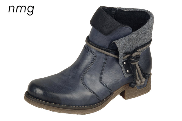 Rieker Boots 79693-00 Eagle (In Black)