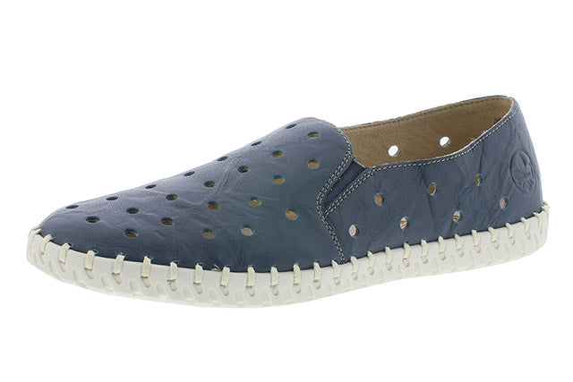 Rieker | L1366-12 | Blue Loafer