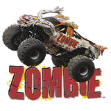 Zombie Monster Jam Cornhole Boards and Corn Hole Bags