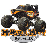 Monster Mutt Rottweiler Cornhole Boards