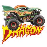 Dargon Monster Jam Truck Cornhole Boards