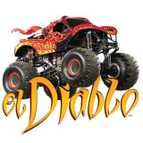 Monster Jam's El Diable Cornhole and Tailgating