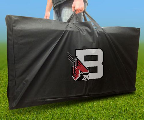 Ball State Cornhole Carry Bag Cardinals from AJJ Corn Hole