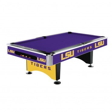 Louisiana State  Tigers 8' Pool Table - Imperial Usa Imp  64-4005