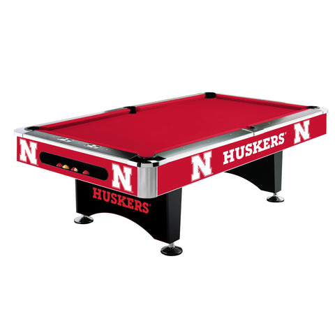 Nebraska Cornhuskers 8' Pool Table - Imperial Usa Imp  64-4010