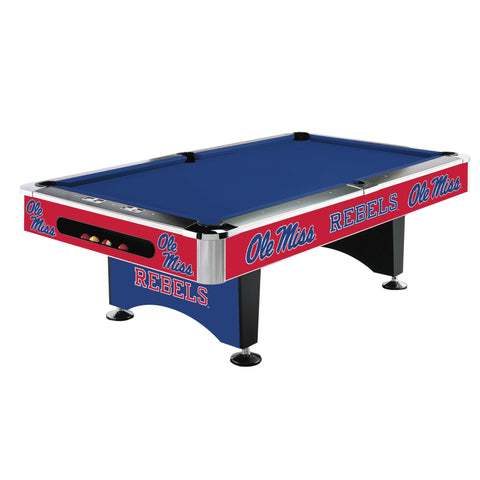 Ole Miss Rebels 8' Pool Table - Imperial Usa Imp  64-4035