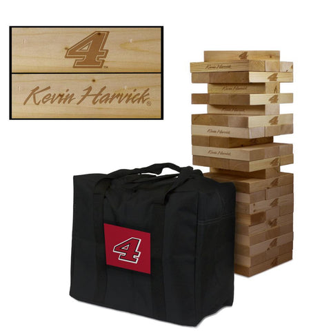 NASCAR #4 Kevin Harvick Giant Jenga Tumble Tower Game