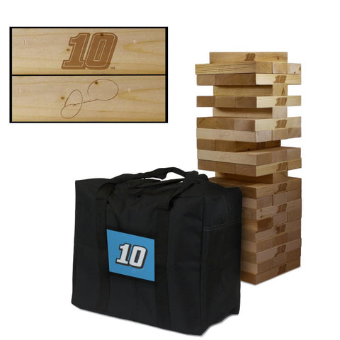 NASCAR #10 Danica Patrick Giant Jenga Tumble Tower Game