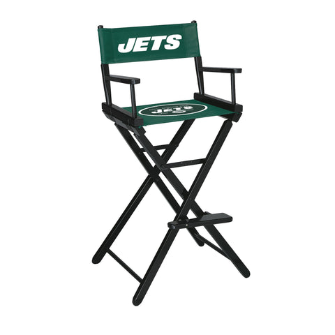 The New York Bar Height Directors Chair for Jets Man Caves