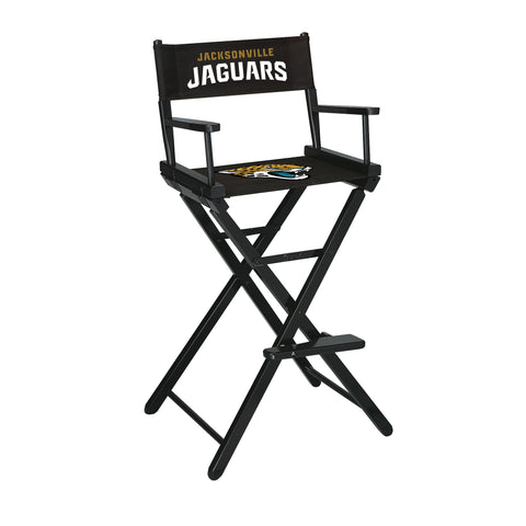 The Jacksonville Bar Height Directors Chair for Jaguars Man Caves