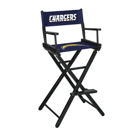 The San Diego Bar Height Directors Chair for Chargers Man Caves