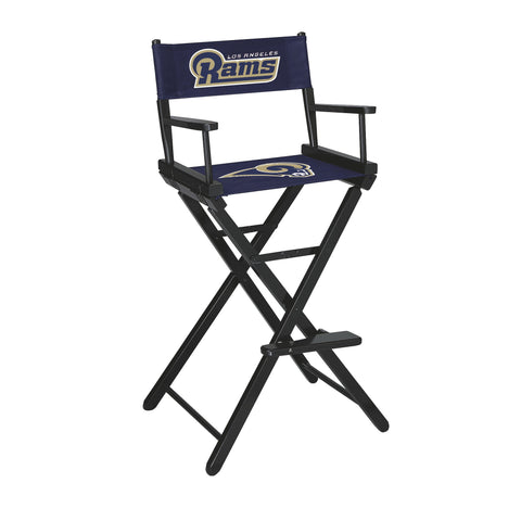 The Los Angeles Bar Height Directors Chair for Rams Man Caves