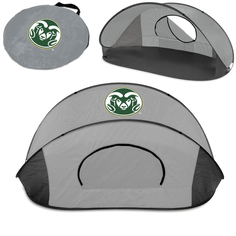 The Colorado State Rams Manta Sun Shelter - Picnic Time 113-00-105-134-0