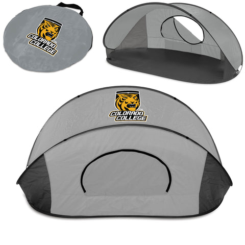 The Colorado College Tigers Manta Sun Shelter - Picnic Time 113-00-105-774-0