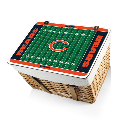 The Chicago Bears Canasta Grande NFL Basket - Picnic Time 119-00-190-064-2