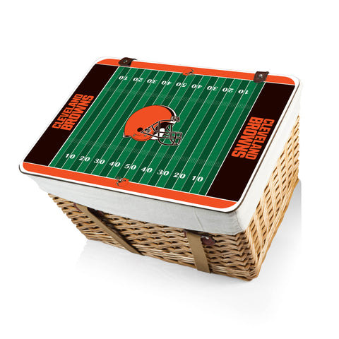 The Cleveland Browns Canasta Grande NFL Basket - Picnic Time 119-00-190-084-2