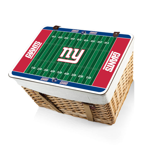 The New York Giants Canasta Grande NFL Basket - Picnic Time 119-00-190-214-2