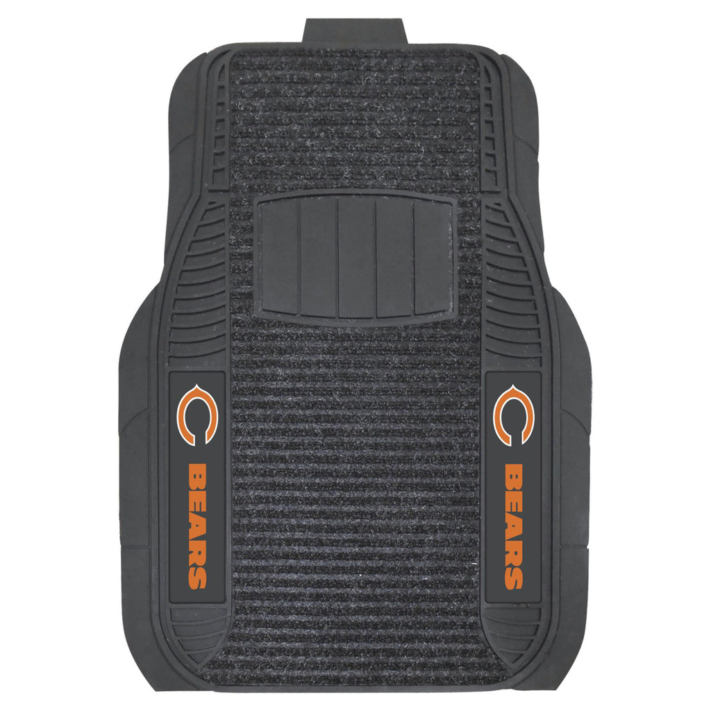 The Chicago Bears Deluxe Auto Floor Mat Set - FanMats 13494