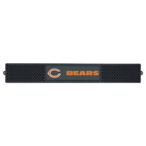"Drink  Mat (3.25""x24"") - Chicago Bears"