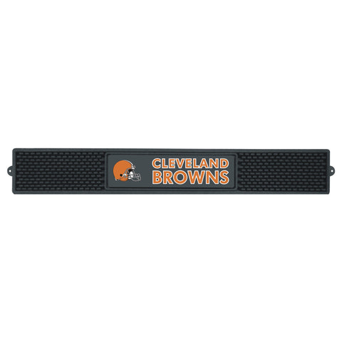 "Drink  Mat (3.25""x24"") - Cleveland Browns"