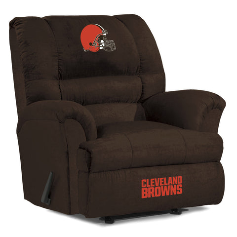 Cleveland Browns  Big Daddy Reclining Chair for Mans Caves and fan recliners