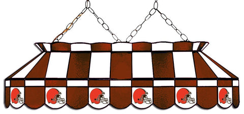 Cleveland Browns 40in GLASS LAMP fan cave mans den pools lighting