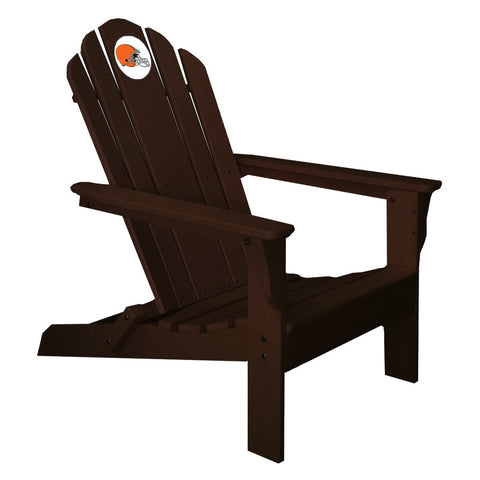 The Cleveland Browns Brown Folding Adirondack Chair Imperial 180-1020