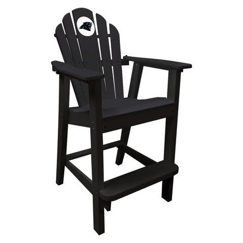 The Carolina Panthers Black Captains Pub Chair - Imperial181-1017