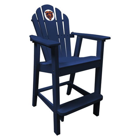 The Chicago Bears Blue Captains Pub Chair - Imperial181-1019