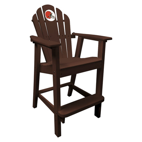 The Cleveland Browns  Brown Captains Pub Chair - Imperial181-1020