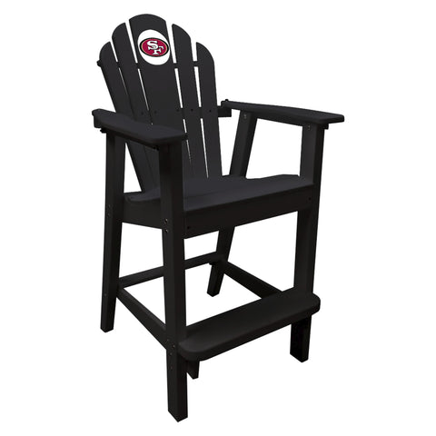 The San Francisco 49Ers Black Captains Pub Chair - Imperial181-1105
