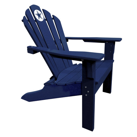 The Dallas Cowboys Blue Big Daddy Adirondack Chair - Imperial USA Imp  182-1002
