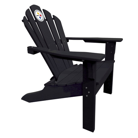 The Pittsburgh Steelers Black Big Daddy Adirondack Chair - Imperial USA Imp  182-1004