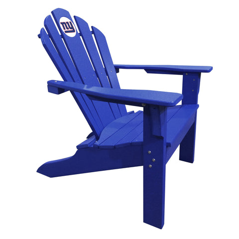 The New York Giants Blue Big Daddy Adirondack Chair - Imperial USA Imp  182-1013